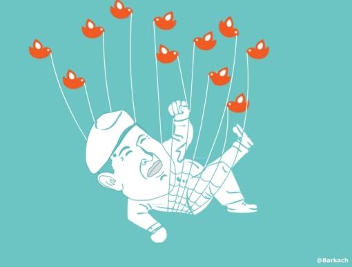 Imagen del dibujante venezolano @Barkach